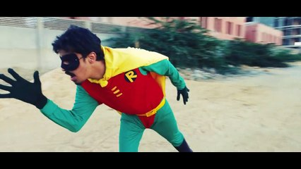"Stay tuned for our upcoming video ""Batman In Pakistan"""