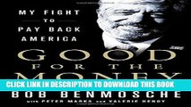 [PDF Kindle] Good for the Money: My Fight to Pay Back America Audiobook Free