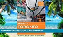 liberty books  Fodor s Toronto: with Niagara Falls   the Niagara Wine Region (Full-color Travel