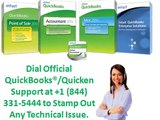 Dial Official Quickbooks®-Quicken® USA Support At +1 (844) 331-5444 To Stamp Out Any Error