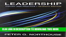 [PDF] Leadership: Theory and Practice, 7th Edition Full Collection