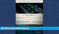 FAVORITE BOOK  An Inquiry into the Nature and Causes of the Wealth of States: How Taxes, Energy,