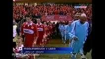 04.11.2004 - 2004-2005 UEFA Cup Group E Matchday 2 Middlesbrough FC 2-0 SS Lazio