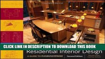 [DOWNLOAD] EBOOK Residential Interior Design: A Guide To Planning Spaces Audiobook Online