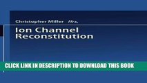 [FREE] Audiobook Ion Channel Reconstitution Download Online