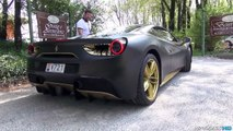 Supercars Revving Like CRAZY at Cars & Coffee Italy 03