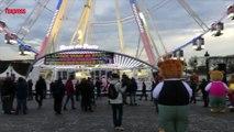 Paris: des forains bloquent la place de la Concorde en soutien à Marcel Campion