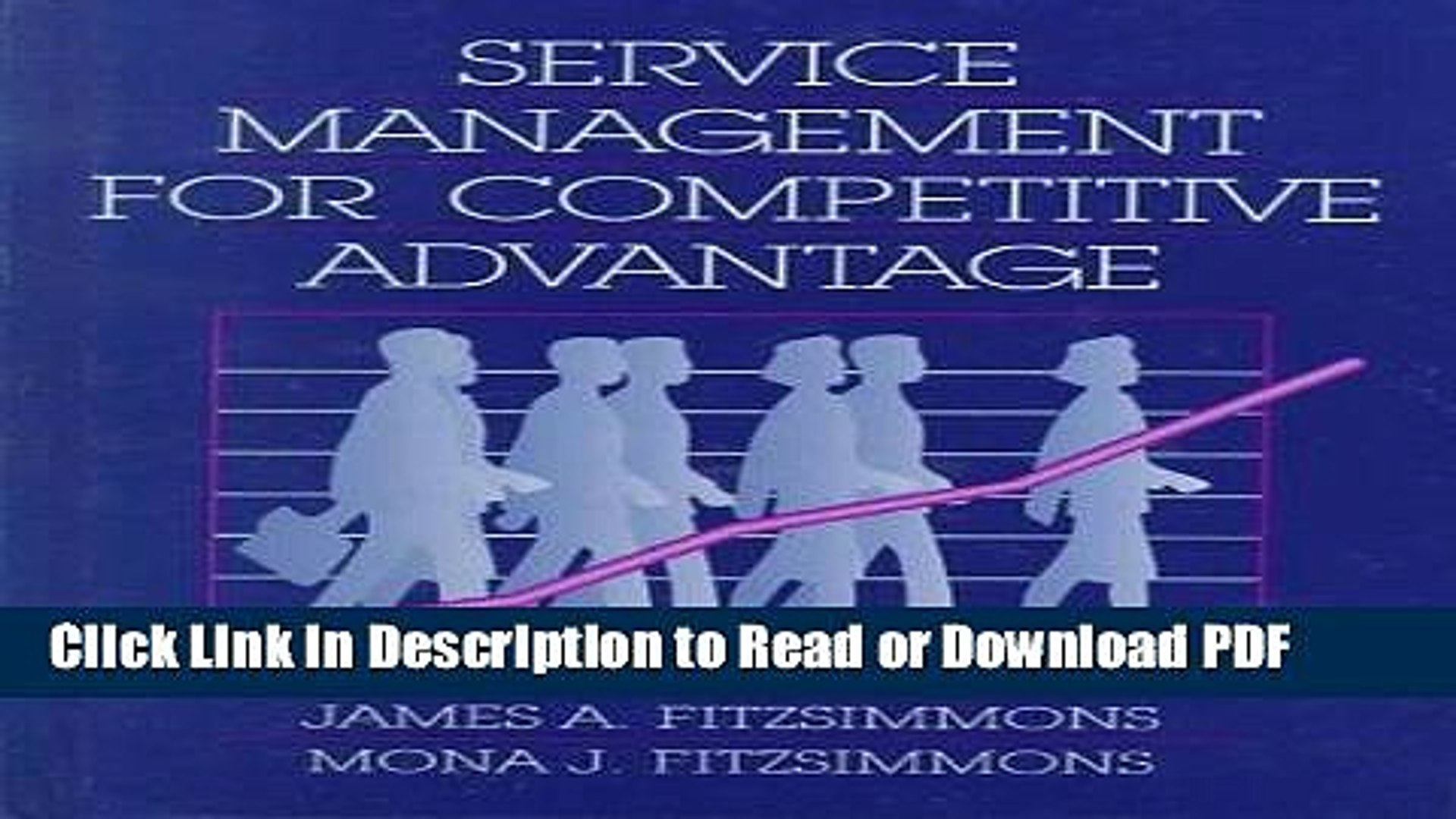 PDF Service Management for Competitive Advantage (Mcgraw Hill Series in  Management) Ebook Online