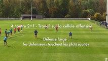 4 contre 2 + 1 (rugby à 7)
