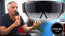 Hololens, la réalité augmentée de Microsoft : David Dedeine d'Asobo nous explique tout