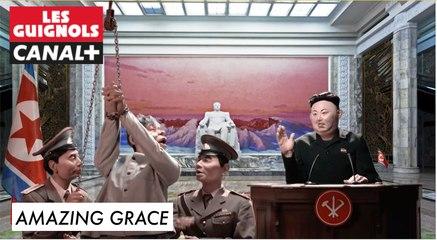 Amazing Grace - Les Guignols du 23/11 - CANAL+