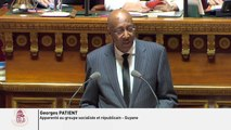 """Proposition de Loi """"Action extérieure des collectivités territoriales et coopération outre-mer"""" - Intervention en DG"""