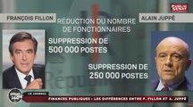 Sénat 360 - Édition spéciale Budget 2017 au Sénat / Finances publiques : les différences entre François Fillon et Alain Juppé (24/11/2016)