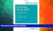 FAVORITE BOOK  Essential Study Skills: The Complete Guide to Success at University (SAGE Study