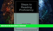 READ  Steps to reading proficiency: Preview skimming, rapid reading, skimming and scanning,