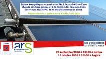 Mutualisation de compétences techniques en EHPAD - Rencontres Qualité Efficience ARS ADEME 2016