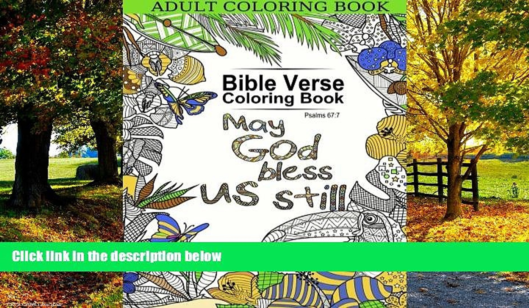 Buy  Adult Coloring Book: Bible Verse Coloring Book: Inspirational Bible Blessings Quotes for