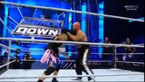 WWE SmackDown 5/5/2016 Roman Reigns and The Usos vs Aj Styles, Luke Gallows and Karl Anderson