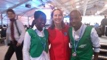 Les enfants experts en écologie de l'ONG Tchadienne Espaces Verts du Sahel à la COP22