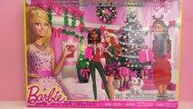 Le calendrier de l'Avent Barbie 2015 – On ouvre toutes les petites portes!