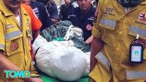 Homens estrangeiros presos por assassinato após polícia achar corpo no congelador.