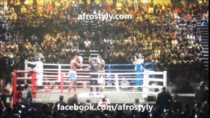 Patrice Quarteron battu par Sam Daniel (combat entier)