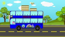 #Peppa Pig Learn #Colors with Buses Double-Decker Teach Colours for kids