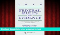 Read books  Federal Rules of Evidence: With Advisory Committee Notes and Legislative History, 2016