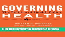 [READ] Kindle Governing Health: The Politics of Health Policy Audiobook Download