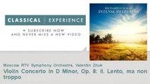 Richard Strauss : Violin Concerto in D Minor, Op. 8: II. Lento, ma non troppo