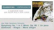 Johannes Brahms : Symphony No. 1 in C Minor, Op. 68: I. Un poco sostenuto - Allegro - Meno allegro