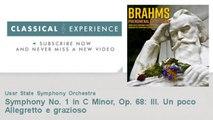 Johannes Brahms : Symphony No. 1 in C Minor, Op. 68: III. Un poco Allegretto e grazioso