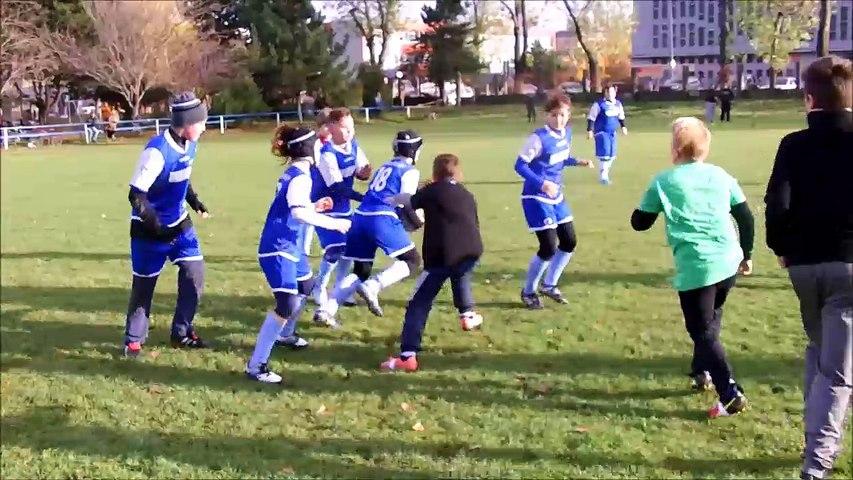 Rugby turnaj pre deti v Bratislava Nov 2016 1. zapas Full match