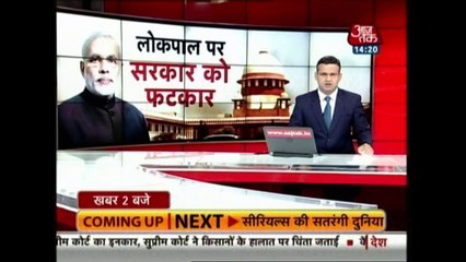 SC Questions Centre On Delay In Appointing Lokpal