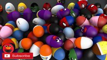Learn colors 3D SURPRISE EGGS for kids - Eggs 3D Surprise Indoor Playground Tunnel for Kids