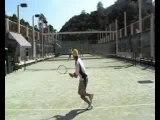 Singles Tennis Competition Hong Kong 2007Joe Haase vs Wayne