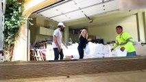 Ils donnent 1000 coussins et oreillers à des sans-abris