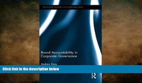READ book  Board Accountability in Corporate Governance (Routledge Research in Corporate Law)