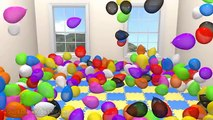 Magic 3D Indoor Playground Tunnel for Kids to LEARN COLORS Fun Cool Surprise Eggs Balls Part 5