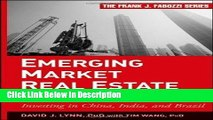 [PDF] Emerging Market Real Estate Investment Investing in China, India, and Brazil [Frank J.