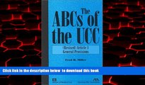 Best books  The ABCs of the UCC, Article 1: (Revised) General Provisions BOOK ONLINE