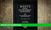 READ book  West s Legal Environment of Business: Text and Cases--Ethical, Regulatory,