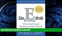 READ BOOK  The E-Myth Revisited: Why Most Small Businesses Don t Work and What to Do About It