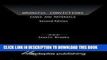 [PDF] Wrongful Convictions: Cases and Materials, Second Edition Popular Online
