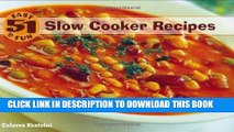 MOBI 51 Fast   Fun Slow Cooker Recipes PDF Online