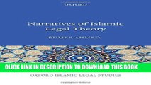 [PDF] Narratives of Islamic Legal Theory (Oxford Islamic Legal Studies) Popular Colection