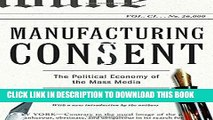 [PDF Kindle] Manufacturing Consent: The Political Economy of the Mass Media Audiobook Free