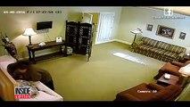La caméra de surveillance d un salon funéraire a capté une scène effroyable !