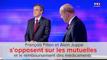 Alain Juppé et François Fillon s'opposent sur les mutuelles et le système de santé