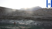 The Dead Sea is getting saltier, shallower and may dry up soon